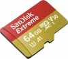 SANDISK Micro SDXC-Card 64GB Extreme V30...